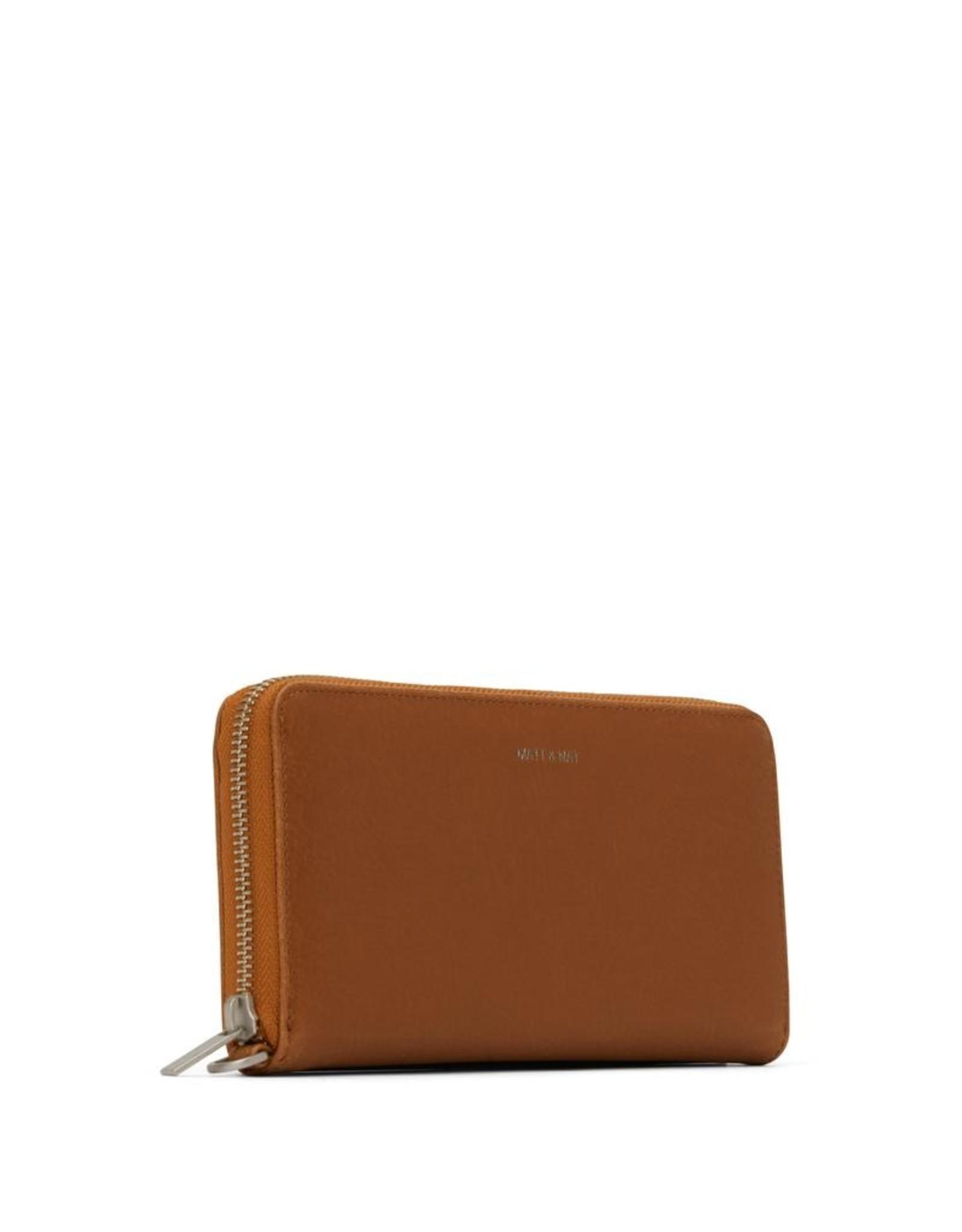 Matt & Nat - Wallet With Wrist Strap Elm/Chili