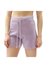 Bonanza - Cozy Plush Shorts, Light Grey or Lilac
