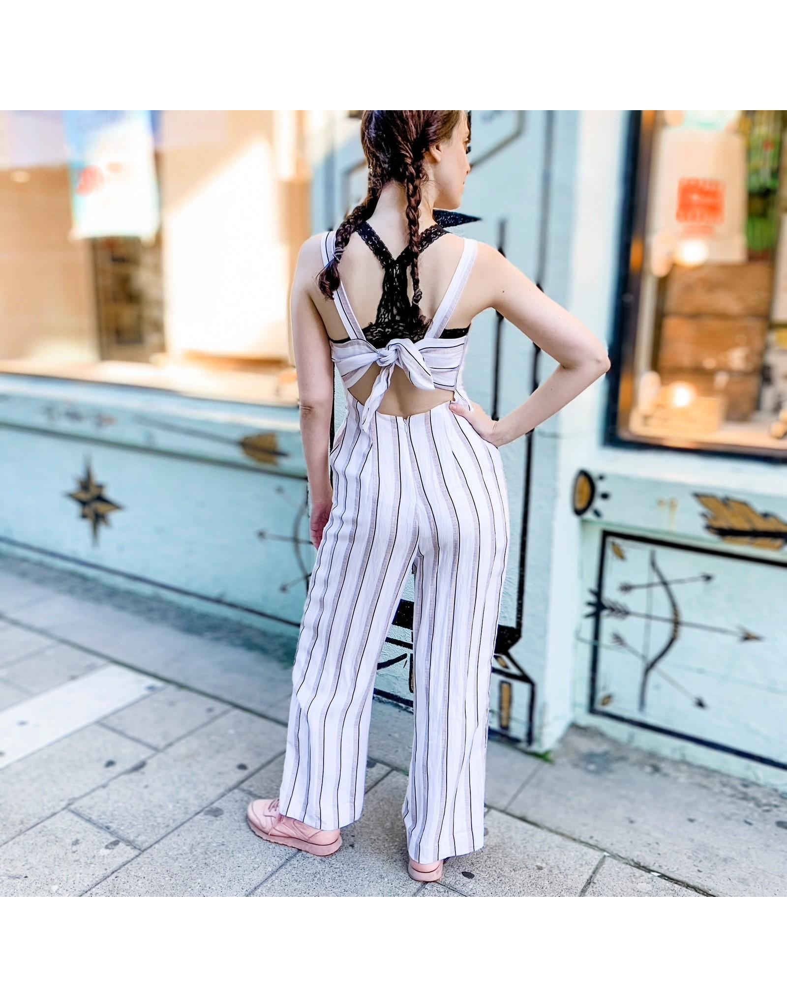 BPE - Striped Jumpsuit