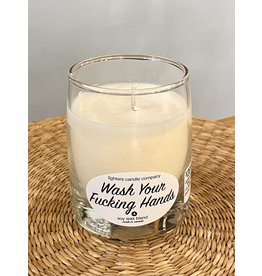 Lighters Candle - Wash Your F'in Hands Coconut
