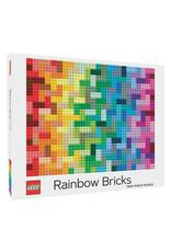 RST - Puzzle Lego Rainbow Bricks / 1000 pcs