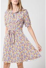 MLY - Avignon Dress - White or Black Floral