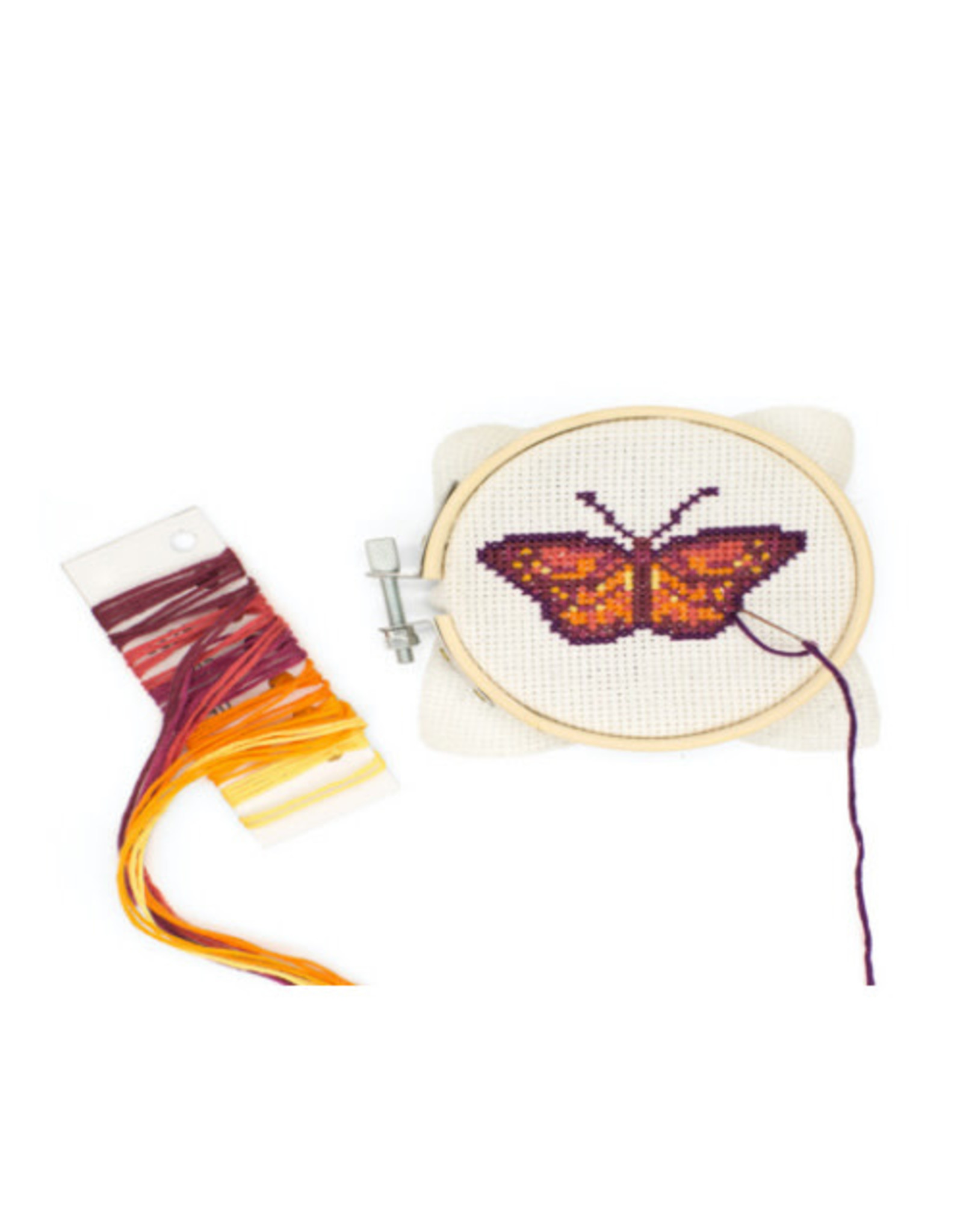 KND - Butterfly Cross Stitch Embroidery Kit