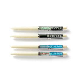 RST - Professional Procrastinator Pen Set
