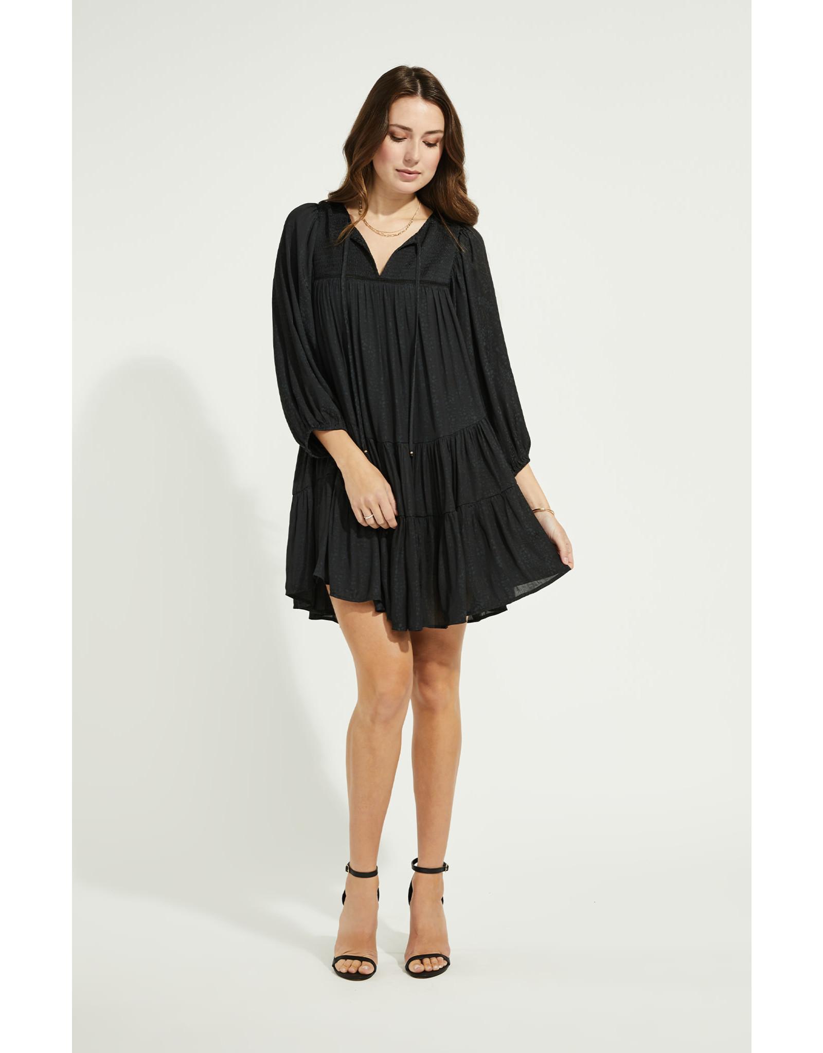 Gentle Fawn - Twirl Dress - Black