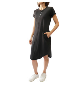 Bonanza - Deck Dress With Pockets- Black or Fatigue