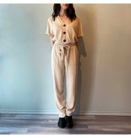 Bonanza - All Days Jumpsuit - Oatmeal or Black