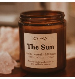 Shy Wolf - The Sun Candle 8 oz