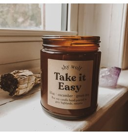 Shy Wolf - Take it Easy Candle 8 oz