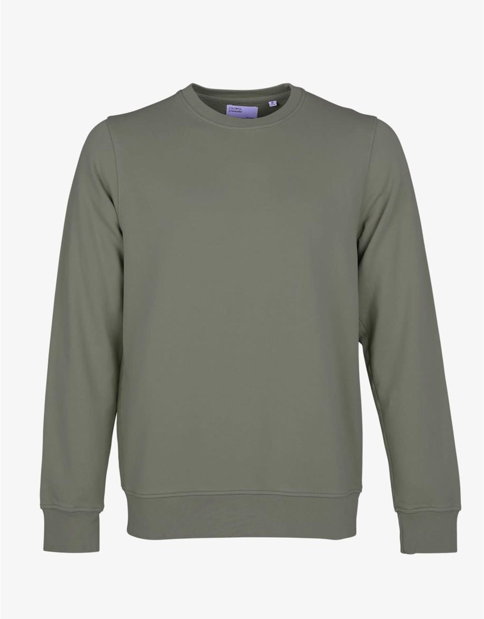 Colorful Standard -Handsome Classic Cotton Sweatshirt Crew