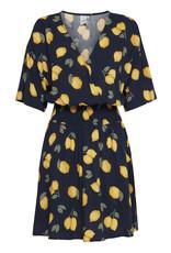 IDK - Short Sleeve Lemon Dress