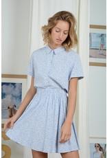 MLY - Jamie Collared Shirt/ Rose or Blue