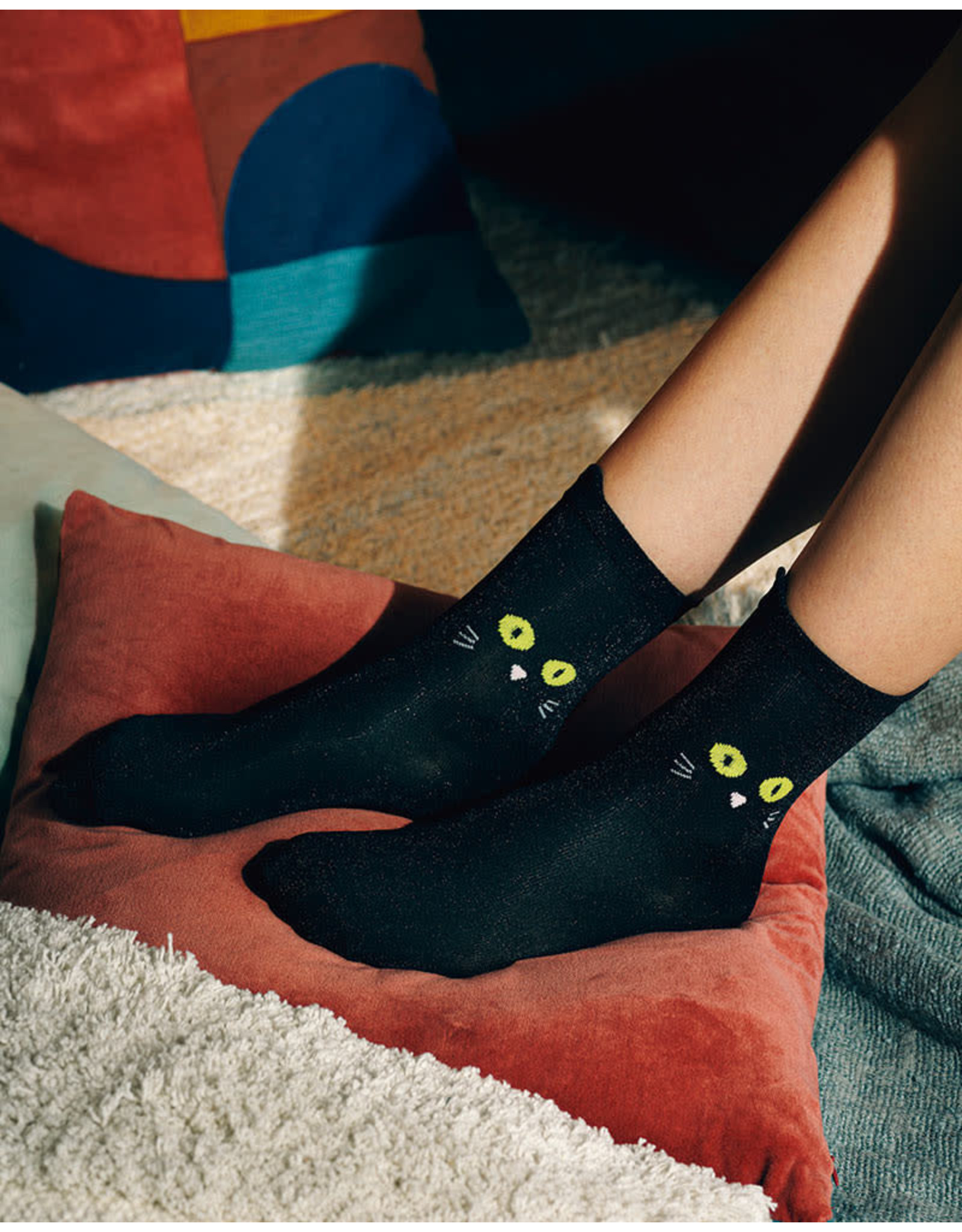 DOY - Cat Socks / Black