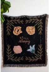 Stay Home Club - Woven Blanket/Still Sleepy