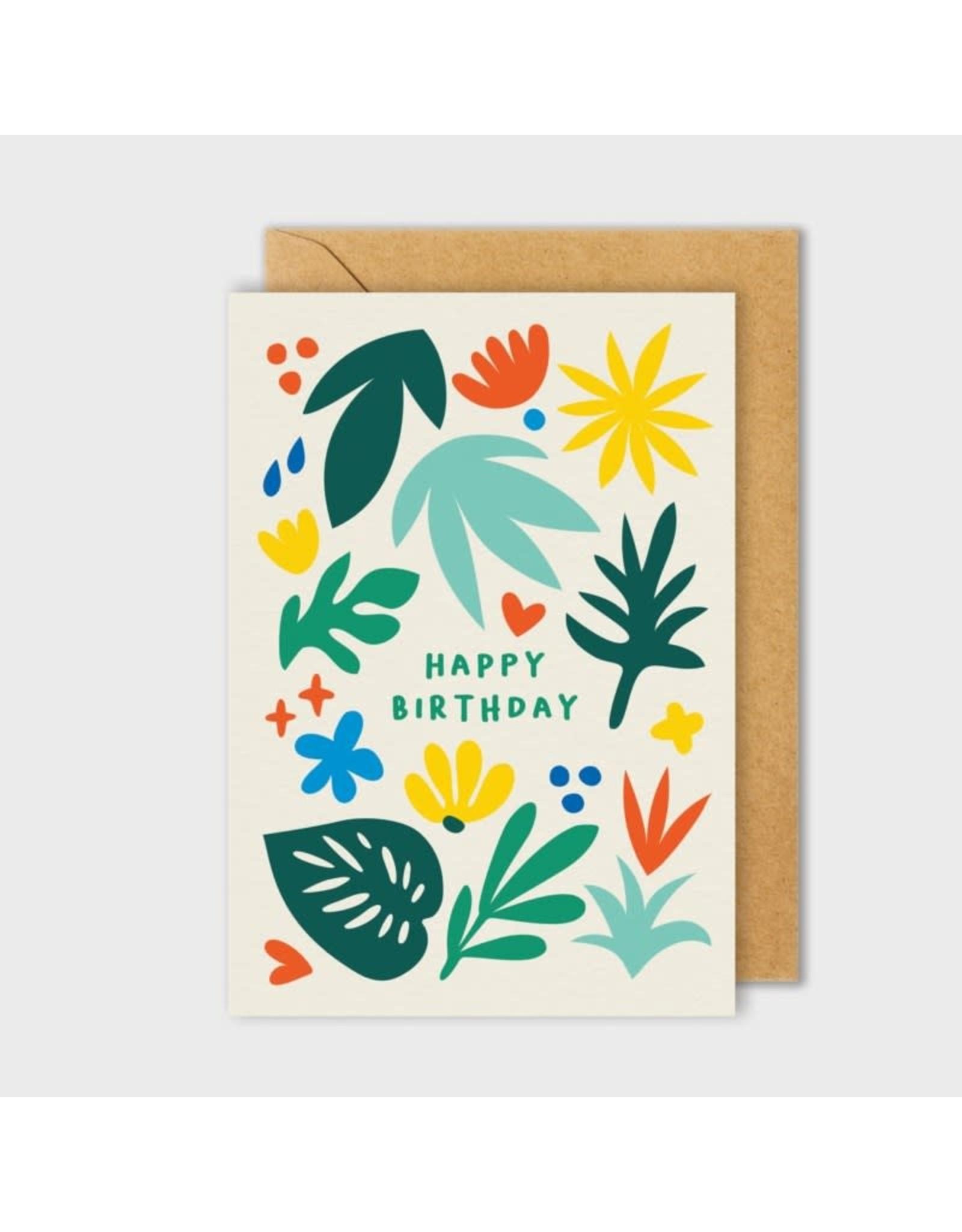 PPS - Card/ Plant Happy Birthday