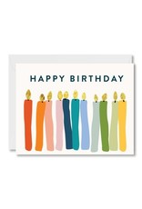 PPS - Card/ Candles Happy Birthday