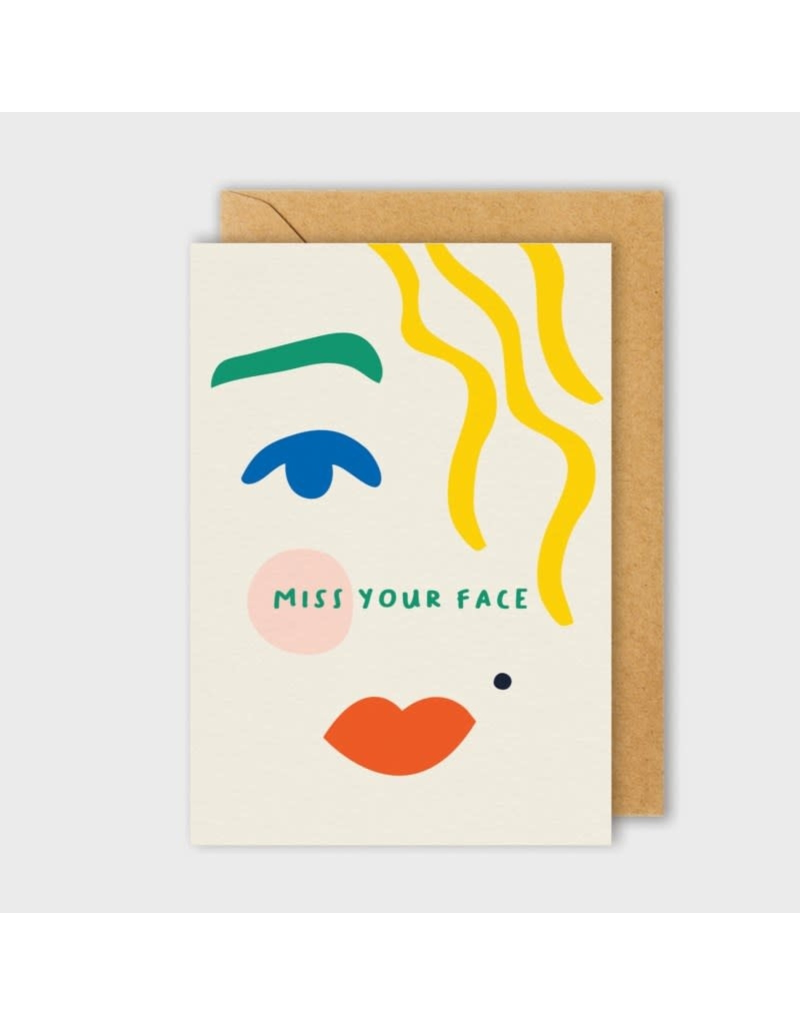 PPS - Miss Your Face Card