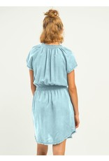 Dex - The Gold Coast Dress/ Black or Bleached Chambray