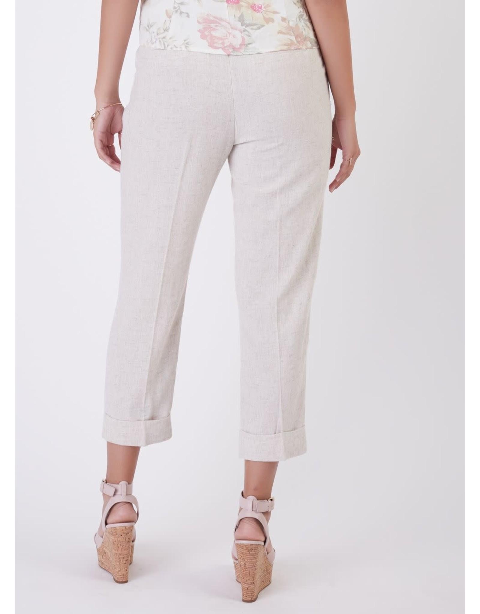 Dex - Cuffed Linen Pant