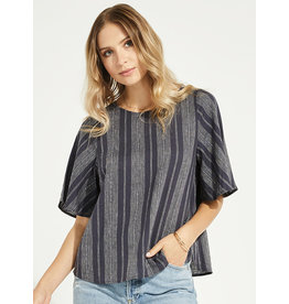 Gentle Fawn - Linen Stripe Top