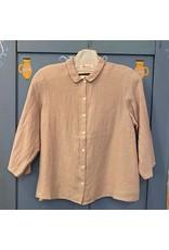 Naif - Linen 3/4 Sleeve Shirt/ Green, White or Beige