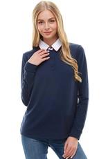 Bonanza - Sorbonne Sweater with Collar