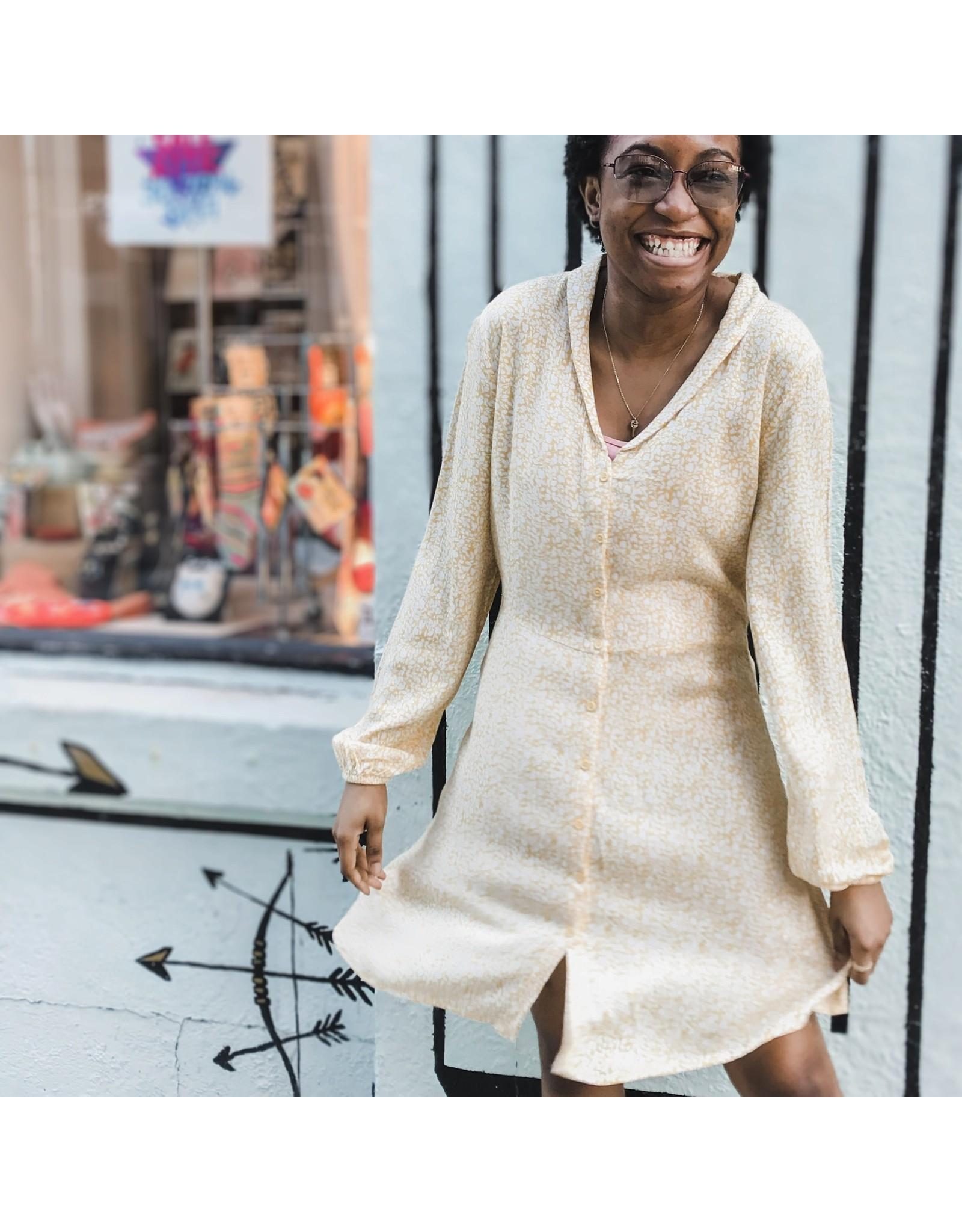 IDK - Long Sleeve Easy Dress