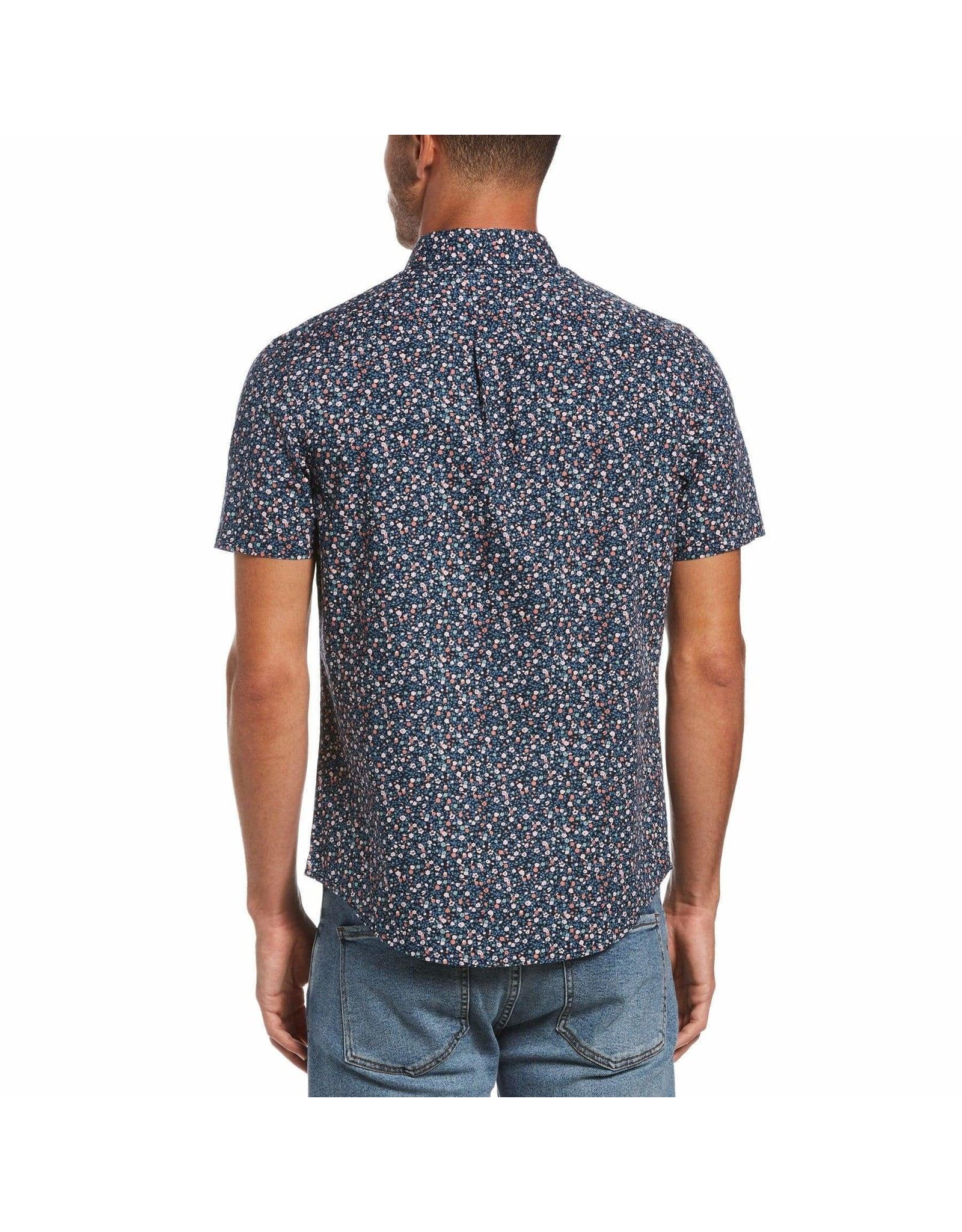 Penguin - Short Sleeve Floral Print Shirt
