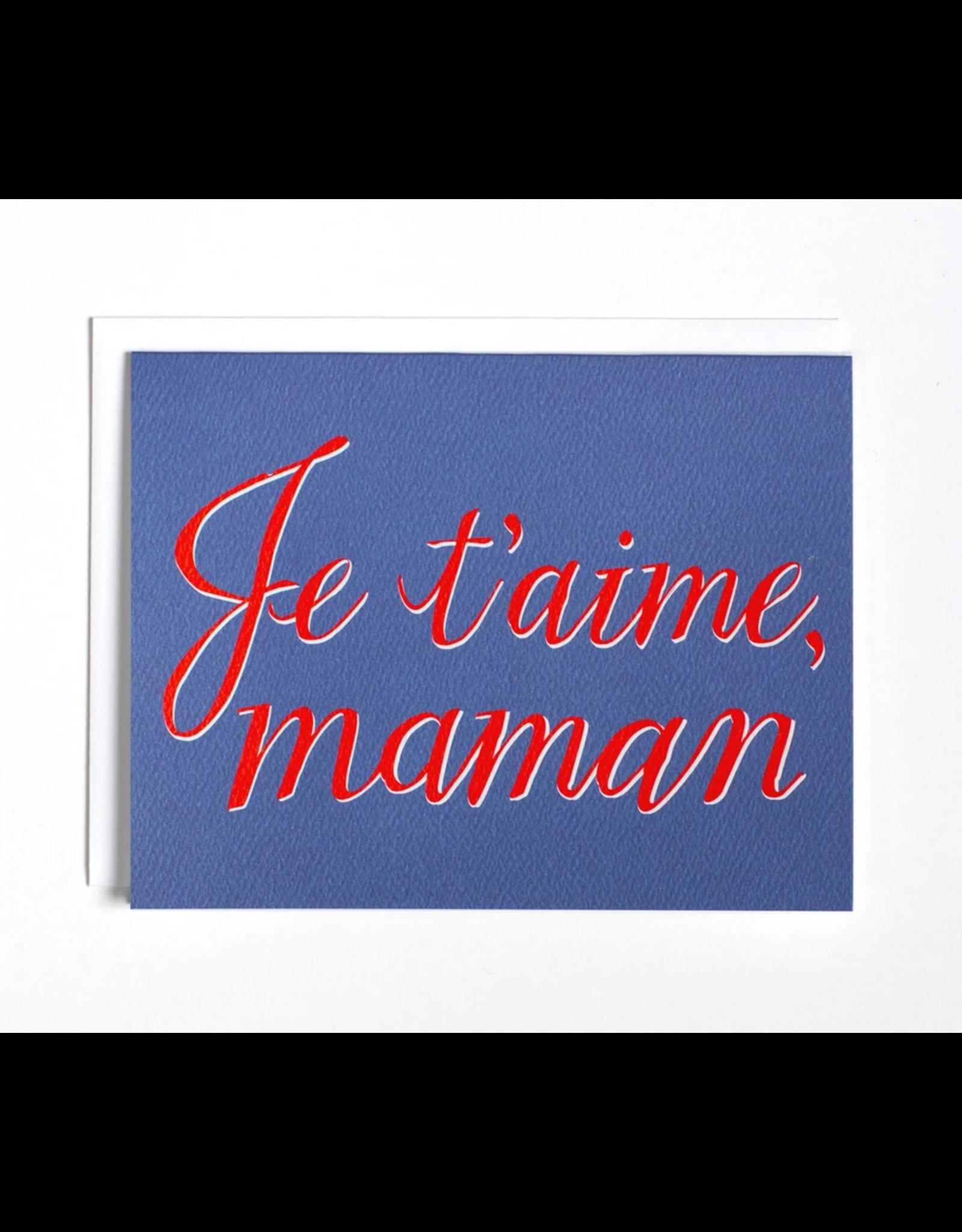 BOP - Je T'aime Maman Card