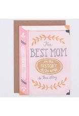 ELE - Best Mom Book Card