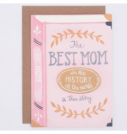 ELE - Best Mom Book Card