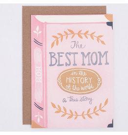 ELE - Card/ Best Mom Book