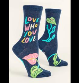 Blue Q - Men's Socks/Love Who You Love