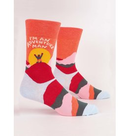 Blue Q - Men's Socks/Adventure Man