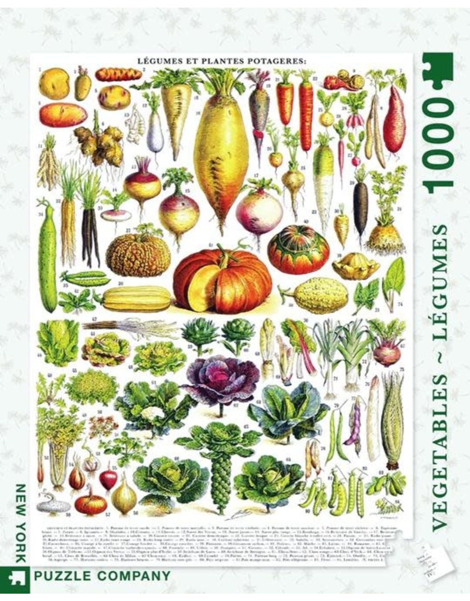 NLE - Puzzle Veggies  / 1000pcs