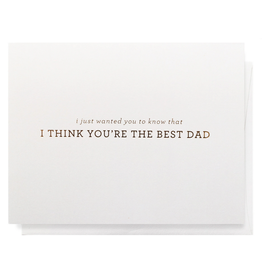 PPS - Card/ You're The Best Dad