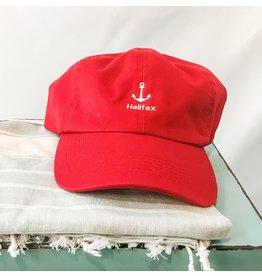 ANO - Anchor Halifax Baseball Cap Red