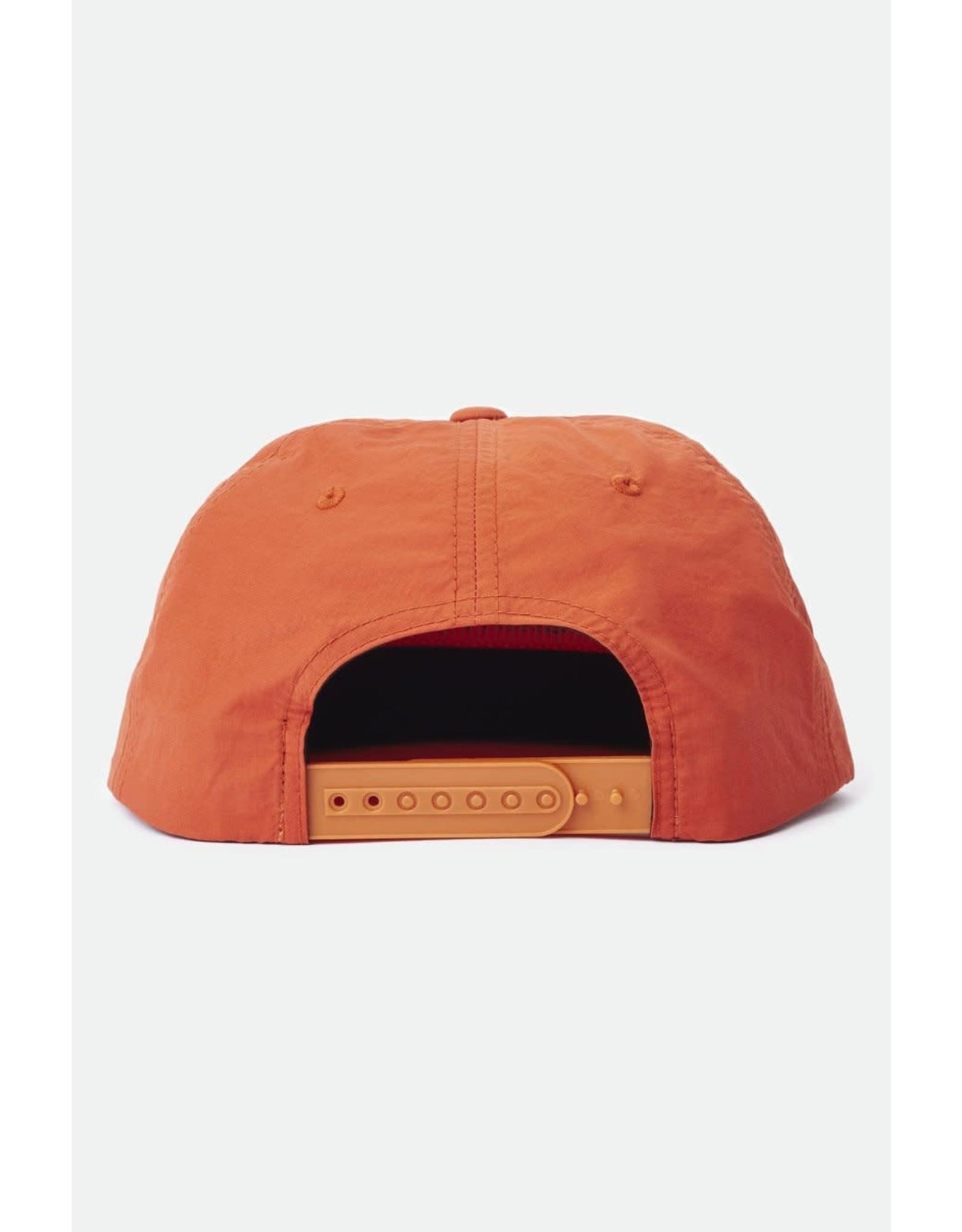 Brixton - Baseball Hat in Black & White or Orange