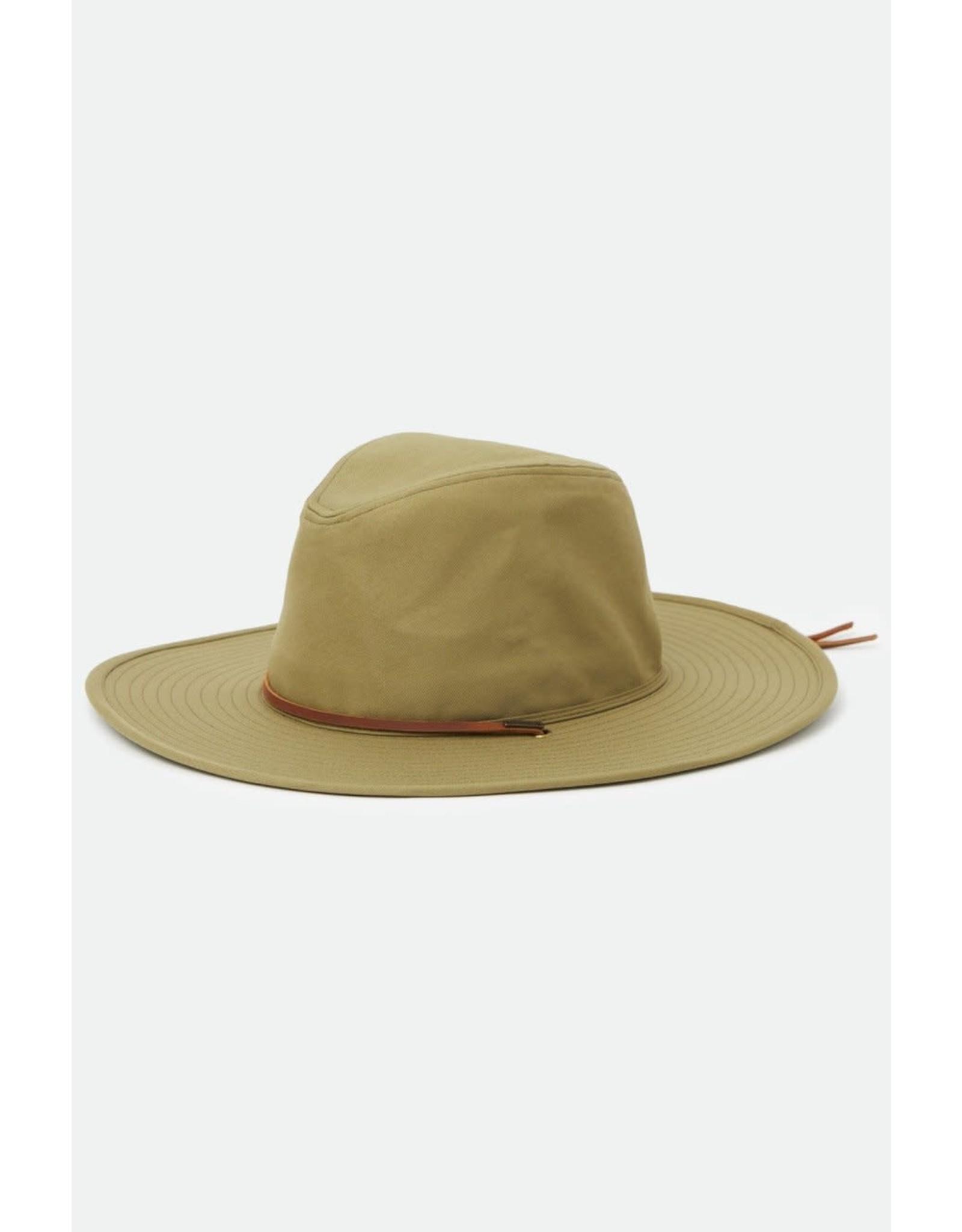 Brixton - Olive Brimmed Hat