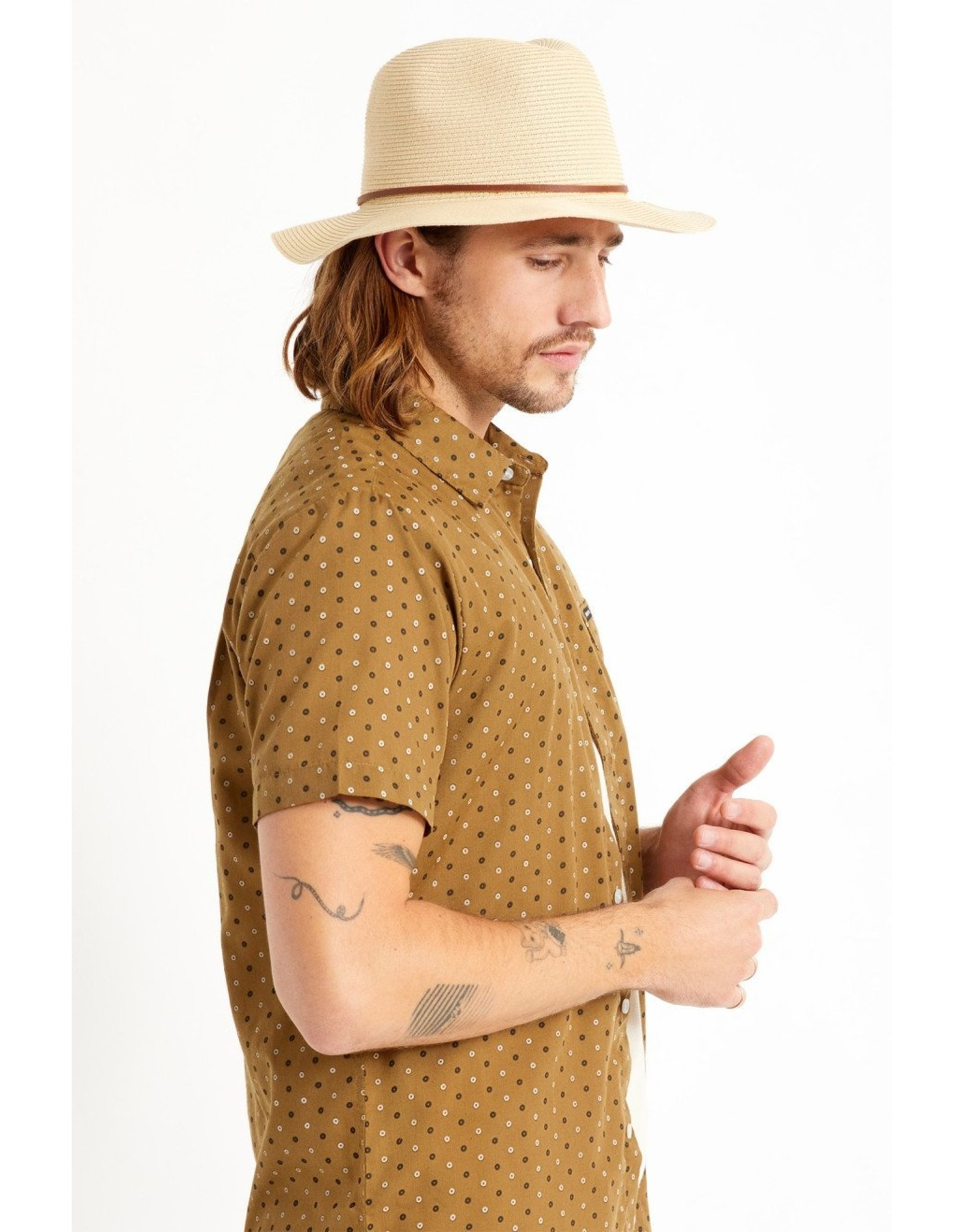 Brixton - Packable Straw Hat