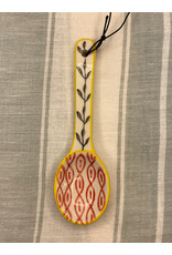 COP - Hand Painted Spoon/Yellow