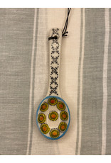 COP - Hand Painted Spoon/Yellow & Black