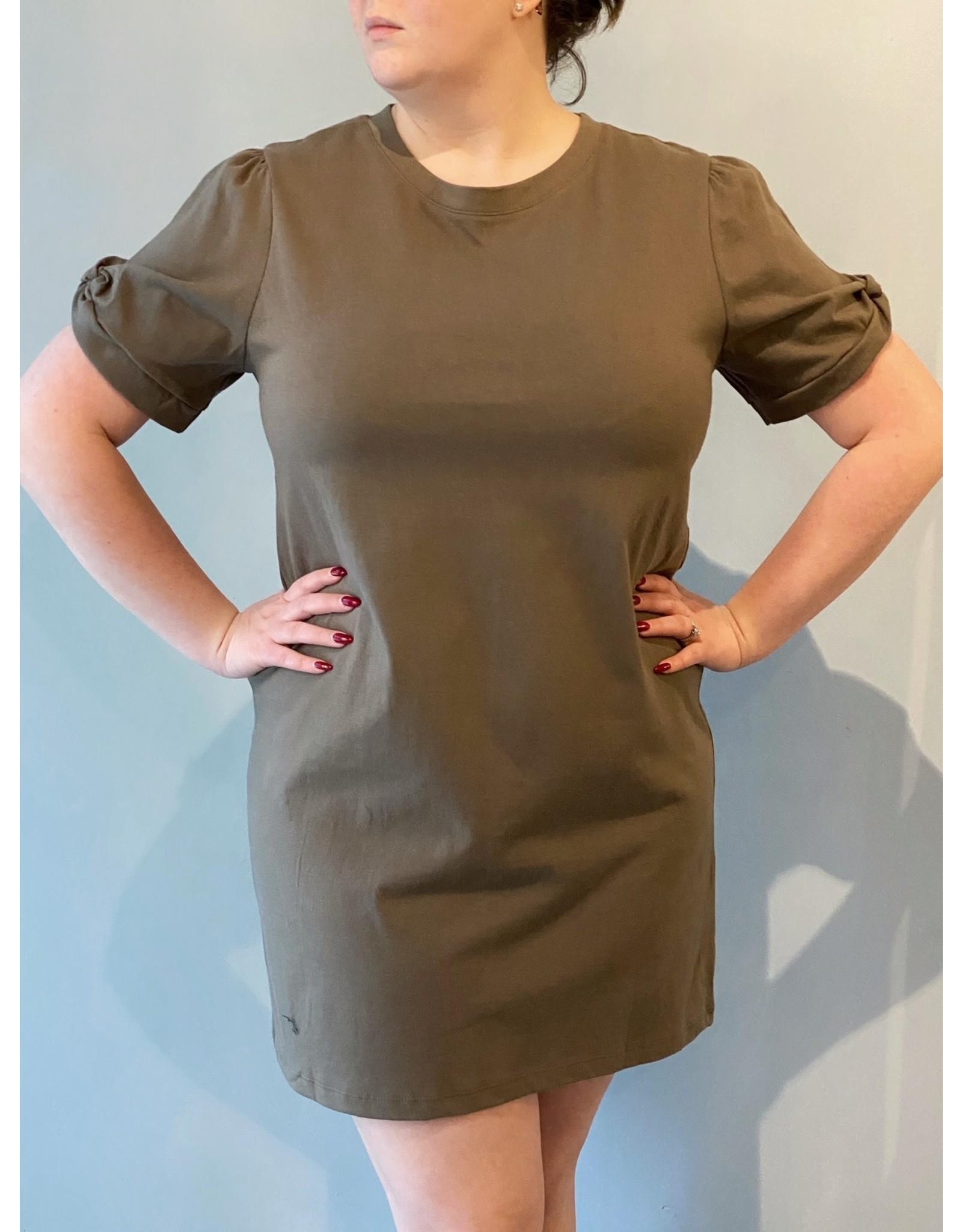 Bonanza - T-Shirt Dress/ Black or Green