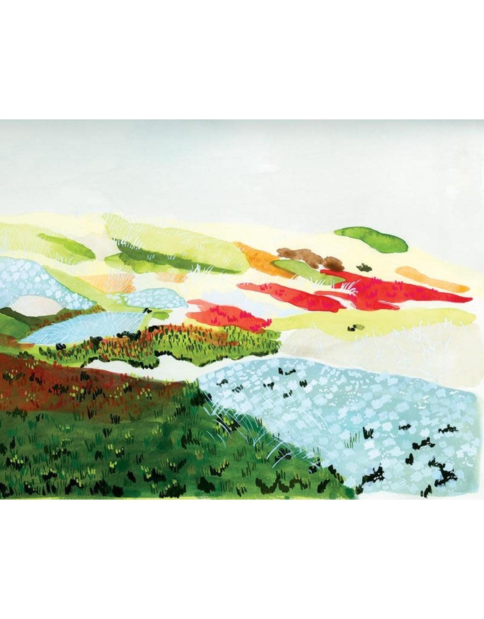 "SRE - Art Print/Beach Turf 11"" x 14"""