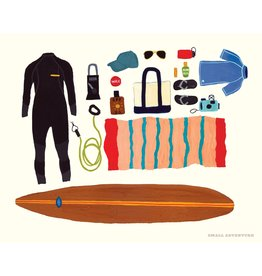 "SRE - Art Print/Surfing 8"" x 10"""
