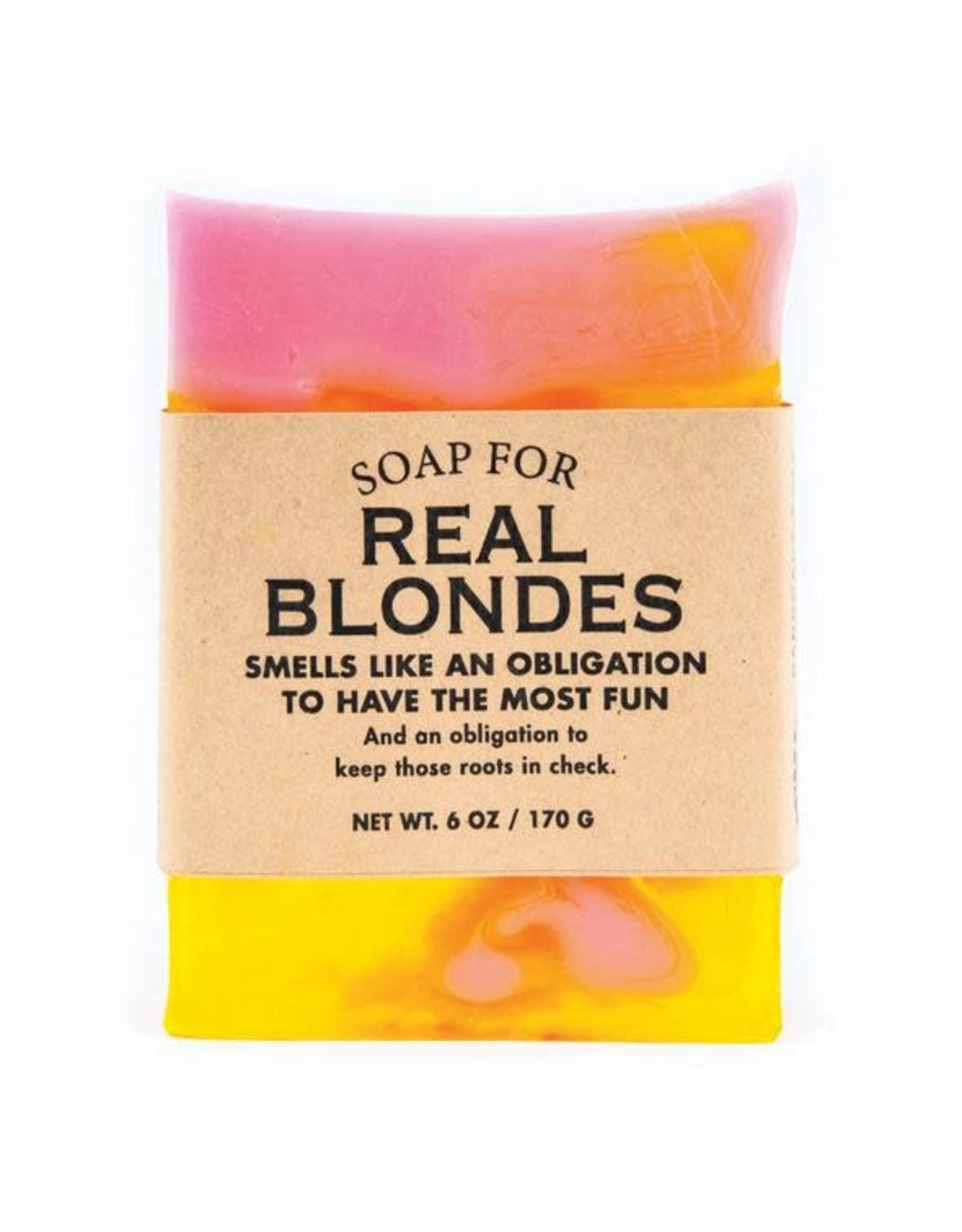 Whiskey River Soap WER - Soap/ Real Blondes 6 oz