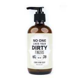 WER - Soap/ Dirty Fingers 8 oz