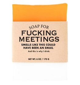 Whiskey River Soap WER - Soap/ Fucking Meetings 6 oz