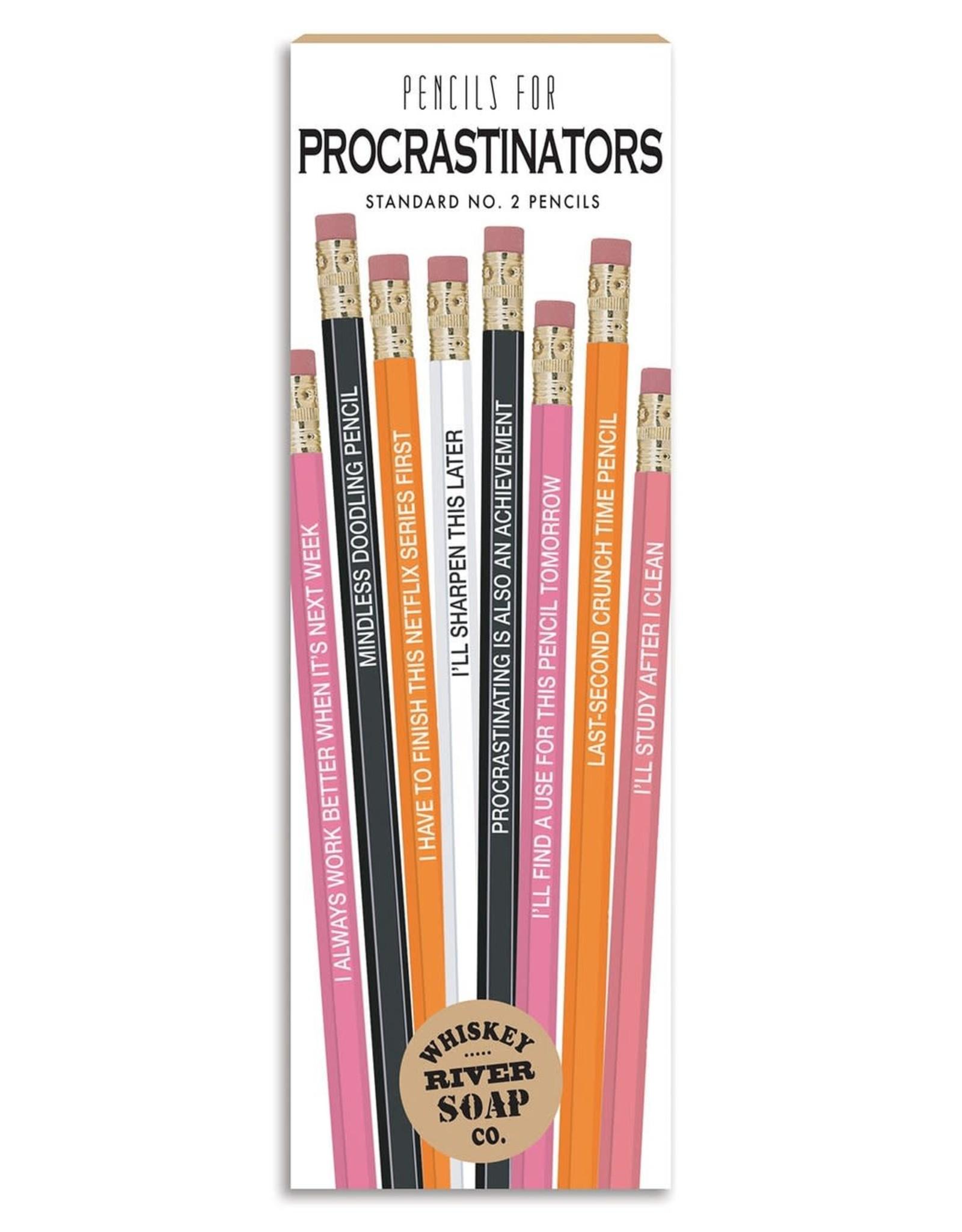 Whiskey River Soap WER - Pencils/ Procrastinators 8 pack