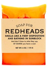 Whiskey River Soap WER - Soap/ Redheads 6 oz